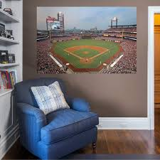 Philadelphia Phillies Behind Home Plate Mural Officially Licensed Mlb Removable Wall Graphic