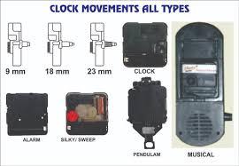 quartz wall table clock movement