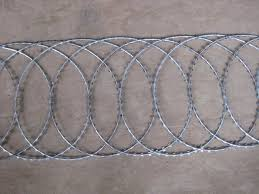 China Hot Selling For Pvc Coated Copper Wire Razor Wire Fence Flat Wrap Type Fuhai Manufacturers And Suppliers Fuhai