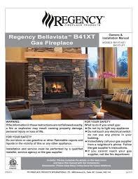 installation regency fireplace s