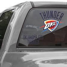 Nba Car Clings Nba Car Sticker Window Cling Fansedge