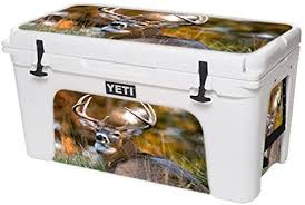 Amazon Com Mightyskins Cooler Not Included Skin Compatible With Yeti Tundra 75 Qt Cooler Wrap Cover Sticker Skins Deer