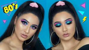 80 s inspired makeup tutorial dania