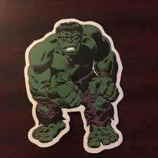Incredible Hulk Sticker Great Quality 1st Depop