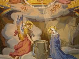 Annunciazione del Signore -Mosaico di Lourdes