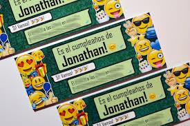 Invitaciones Tarjetas De Cumpleanos Emojis Emoticones 6