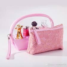 makeup bag lace washing toiletry kits
