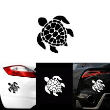 Sea Turtle Beach Hawaii Car Window Decal Truck Sticker Wish