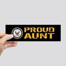 Aunt Bumper Stickers Cafepress