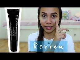 mary kay concealer first impression