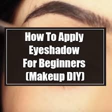 beginners makeup diy