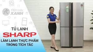 Tủ lạnh Sharp SJ-FX630V-ST 626 lít giá rẻ, có trả góp 06/2020