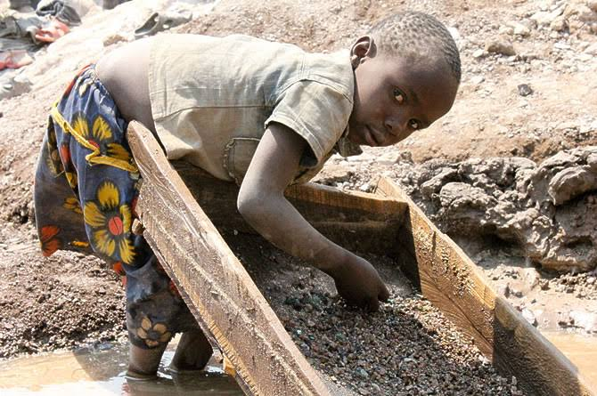 "Image result for child labour in cobalt mines"""