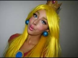 princess peach mario makeup