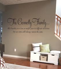 Family Roots Personalised Wall Art Decal Wall Decals Wall Stickers Wall Quotes Express Yourself Decals