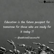 education is the future p quotes writings by nikhil bansal