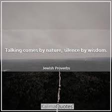 talking comes by nature silen kalimaquotes