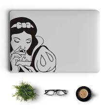Naughty Snow White Vinyl Laptop Sticker For Macbook Decal Pro 16 Air Retina 11 12 13 14 15 Inch Mac Book Notebook Skin Sticker Aliexpress