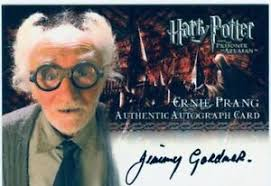 Harry Potter Prisoner Of Azkaban Up. Autograph Jimmy Gardner as ...