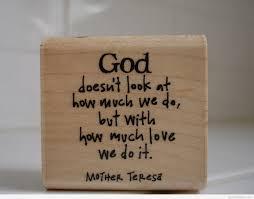 god mother teresa quote hd