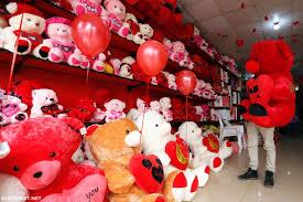 صور دب احمر عيد الحب الم حيط