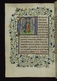 Illuminated Manuscript, Book of Hours, St. Adrian, Walters… | Flickr