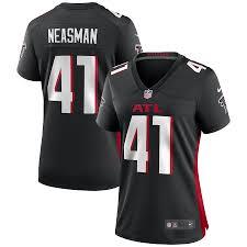 Women's Atlanta Falcons Sharrod Neasman Nike Black Game Jersey