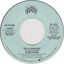 45cat glass moon on a carousel on