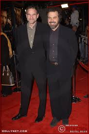 "L-R) Producer Marshall Herskovitz and producer/director/writer Edward Zwick  attend the U.S. premiere of ""The Last ..."