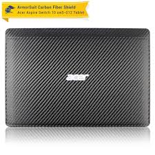 Acer Aspire Switch 10 Sw5 012 Screen Protector Black Carbon Fiber Armorsuit