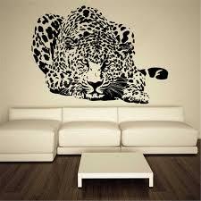Wall Decal Vinyl Sticker Leopard Animal Speed Home Decor Removable Wall Decals Vinyl Kids Room Art Decor Wall Sticker N182 Aliexpress