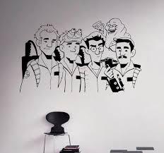 Ghostbusters Vinyl Decal Supernatural Wall Sticker Nursery Etsy