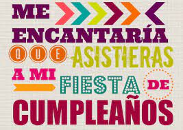 Invitaciones De Fiesta De Cumpleanos Descargables Gratis