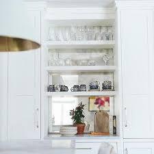 antiqued mirror backsplash design ideas