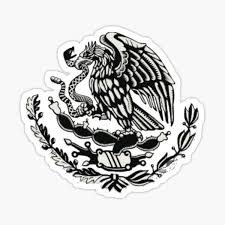 Mexican Eagle Stickers Redbubble