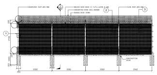 Y Type Steel Fence Post For High Security Fencing System