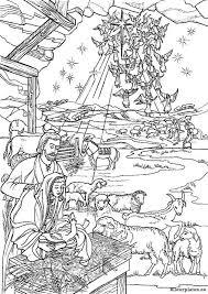 Bijbel Kerstverhaal Kleurplaat Kleurplaten Bijbel Kleurplaten