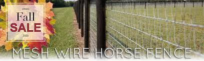 Mesh Wire Horse Fence Ramm Horse Fencing Stalls
