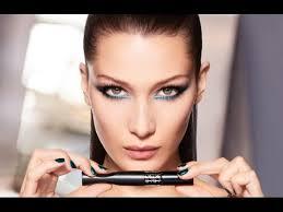 bella hadid for dior makeup tutorial