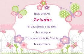 Invitacion Con Imagenes Invitaciones Baby Shower 8 De Febrero