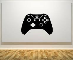 Xbox One Controller Gamepad 1 Gaming Gamer Wall Art Decal Sticker Picture Poster Ebay