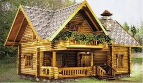 small log cabin cottage house plans