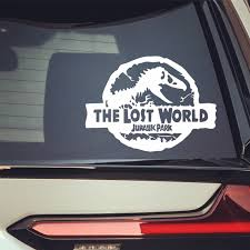 Dinosaur Jurassic Park The Lost World Car Stickers Funny Creative Decals For Trunk Windshield Vinyls Auto Tuning Styling D10 Car Sticker Auto Tuningauto Styling Aliexpress