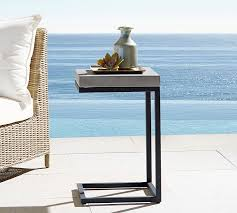 sloan outdoor c table pottery barn
