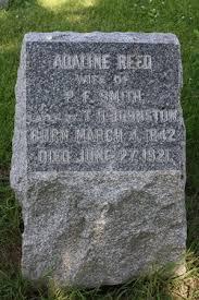 Adeline Reed Johnston (1842-1921) - Find A Grave Memorial