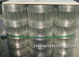 High Tensile Horse Cattle Wire Fence Roll 4 Foot With Y Post Iso Approved