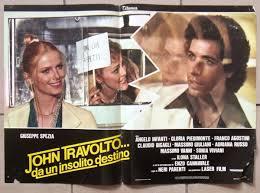 Set of 9) John Travolto... da un insolito destino Italian Film ...