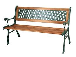 3 seater garden patio bench with