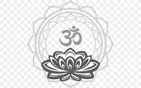 Wall Decal Reiki Om Sticker Png 508x515px Wall Decal Area Black And White Chakra Decal Download