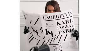 karl lagerfeld created a l oréal paris
